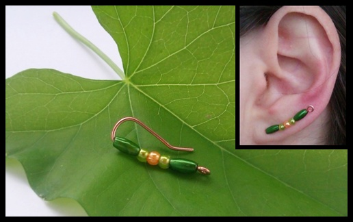 wire wrapped earvine