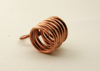 wire wrapped copper coil