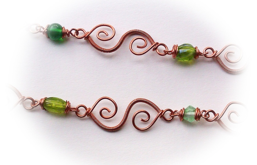 wire wrapped elegant s link