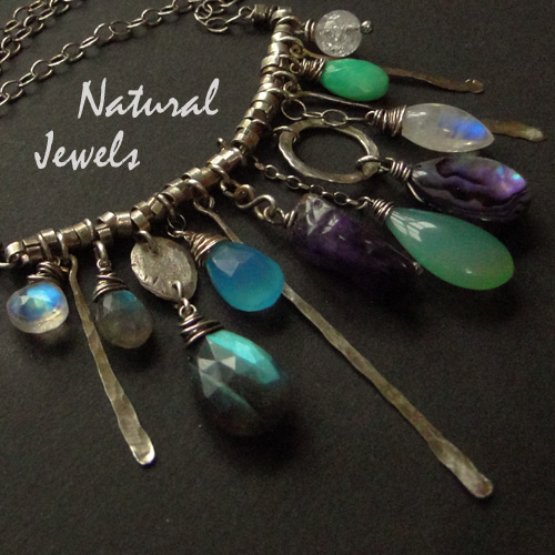 'Electrical' handmade jewelry by Natural Jewels