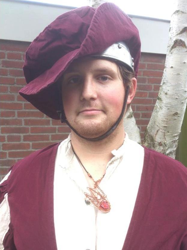 Wilhelm Kropp, larping character for Drachenfest