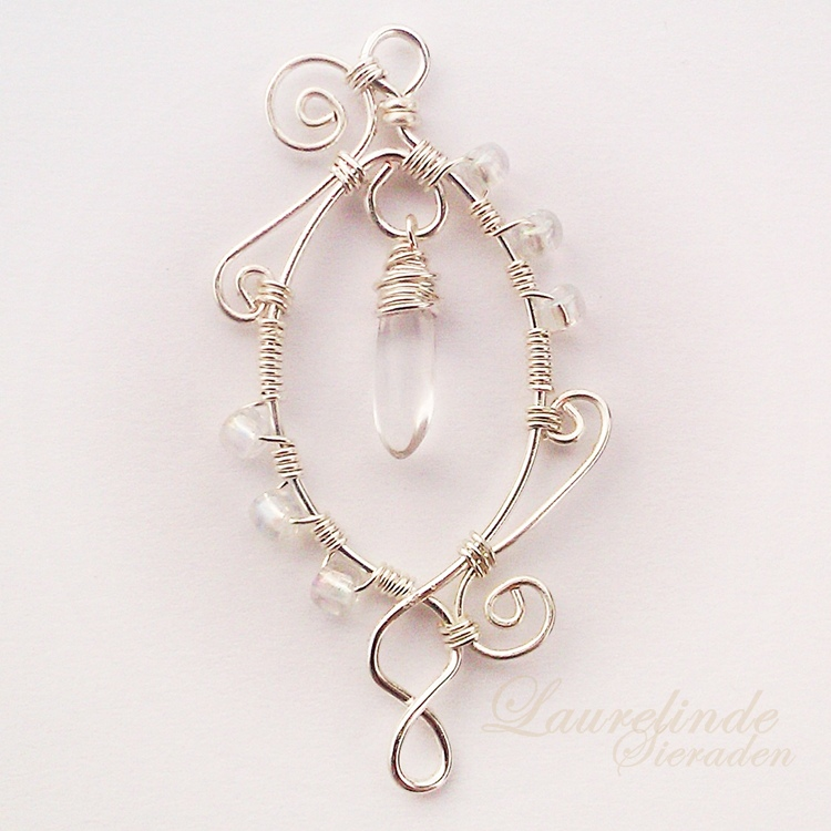 winter breezes pendant