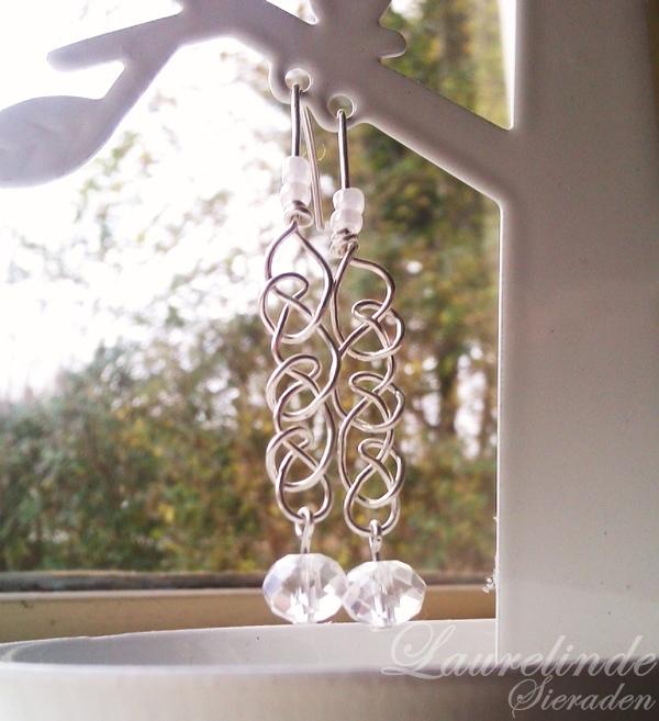 Seren steroorbellen van sterling zilver