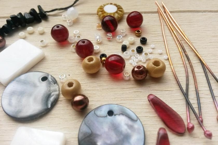 kralen inspiratie voor wire sieraden collectie persephone