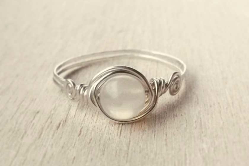 laurelinde maansteen ring