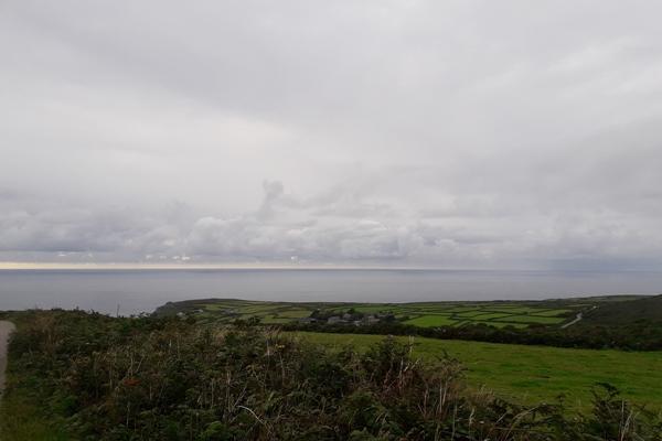 dorpje zennor aan de kust van cornwall